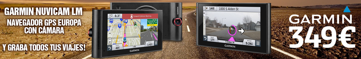 Garmin Nuvicam LM GPS con cámara