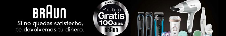 Braun: ¡Pruébalo GRATIS 100 días!