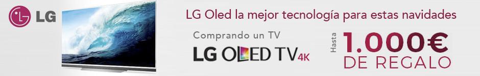 Llévate hasta 1.000 euros al comprar la mejor tecnología LG OLED TV  para estas navidades