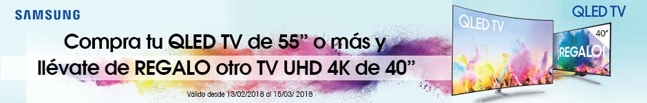 Samsung QLED TV disfruta el doble