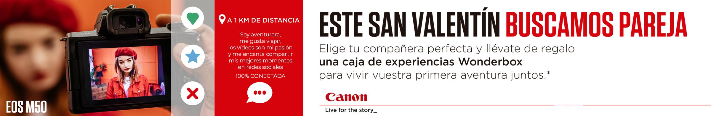 ESTE MES, ENAMÓRATE....CANON