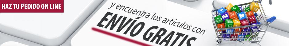 GASTOS DE ENVÍO GRATIS