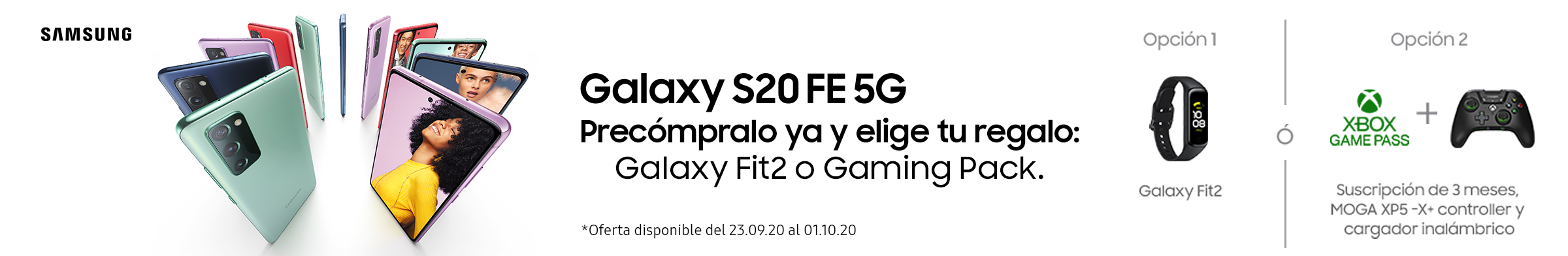 Precompra Galaxy S20 FE