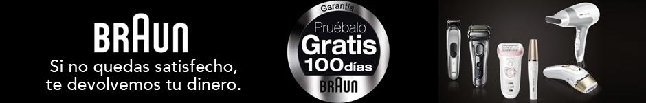BRAUN: PRUÉBALO GRATIS 100 días
